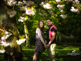 Pre-Wedding Engagement shoot @ Elvaston Castle, Derbyshire.