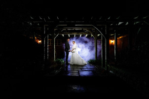 Smoke and light effects at Morley Hayes Derby by Daniel Burton Photography
