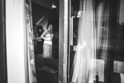Wonderful wedding at Morley Hayes, Derby in one of the bridal suites.