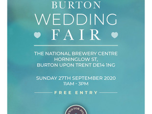 Upcoming wedding fair Sept 2020