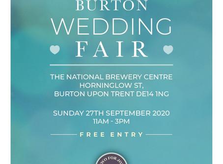 Upcoming wedding fair Sept 2020