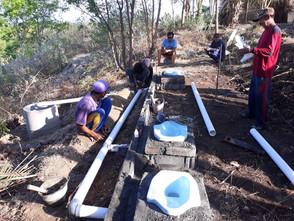 Pembangunan Toilet di Dusun Mundung Timur