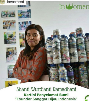 LOKAKARYA ECOBRICK, penanggulangan kemasan plastik bekas yang berteknologi rendah dan berbasis warga