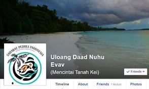 Akun Resmi Facebook dan Instagram #UloangDaadNuhuEvav