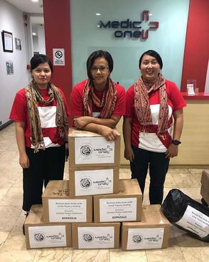 Sahabat Peduli Indonesia tiba di Palu