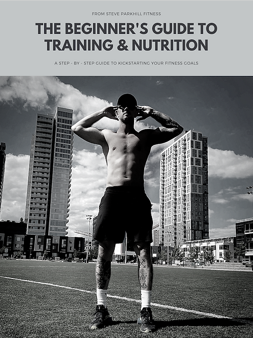 Beginner's Guide To Training And Nutrition