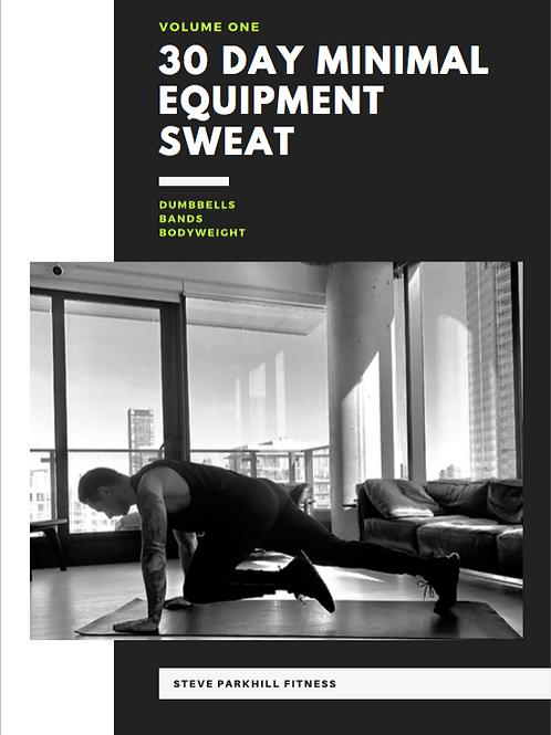 30-Day Minimal Equipment Sweat