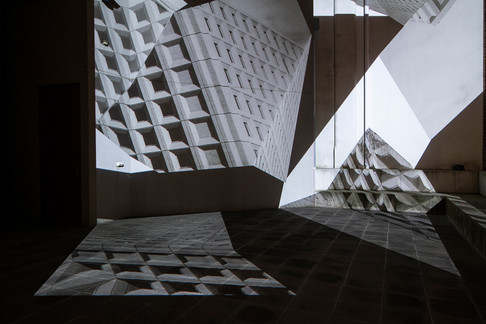 The Image Unfolds Again by Alex Walker. Photo courtesy of the artist
