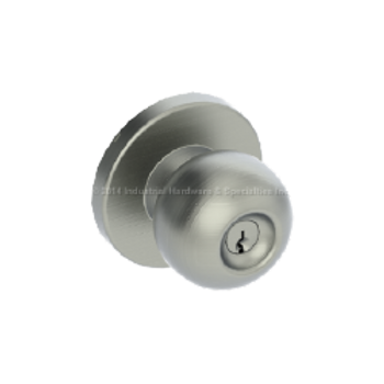 Hager 3510 US32D Apollo Knob door lock 091148