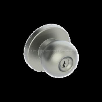 Hager 3553 US32D Apollo Knob door lock 091096