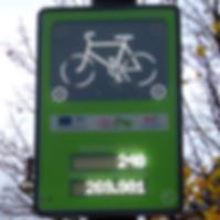 contador de bicicletas, zelt, conteo automático de bicicletas, monitoreo automático de bicicletas
