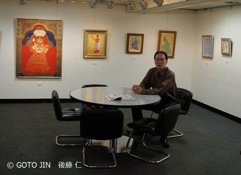 個展「饗宴Ⅱ~後藤 仁 日本画と絵本原画の世界~」