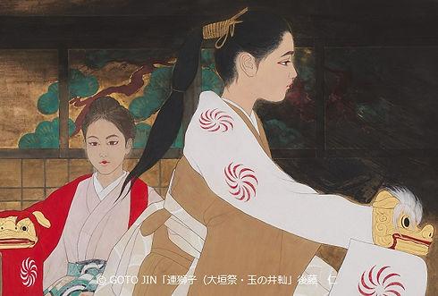 「連獅子(大垣祭・玉の井山)」F15号.jpg