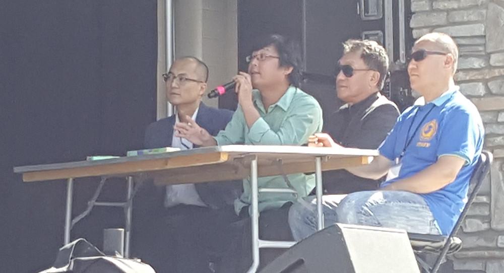심사위원 - 대한항공 이성현 총괄이사, 하영석 밴드 단장, 안용섭 단장, 김광호 뉴저지한인회 수석