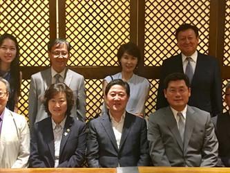 유기준 국회의원 단체장 간담회