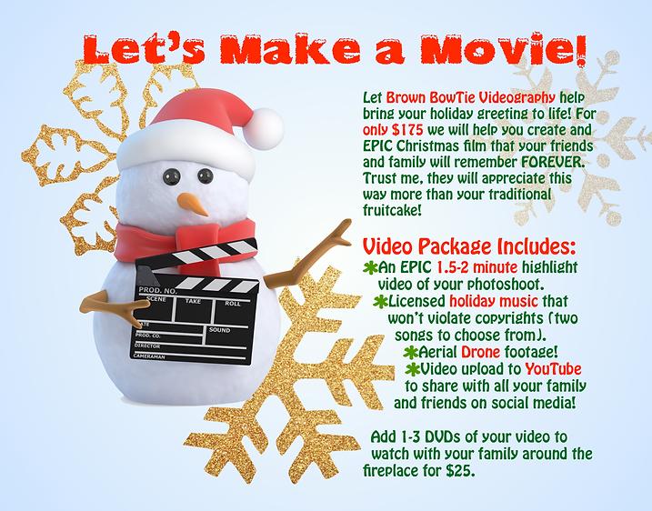 Christmas films Central Virginia