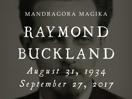 Celebrating A Craft Elder: Raymond Buckland