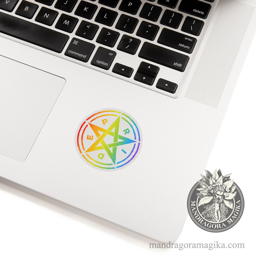 Pride Pentagram Sticker