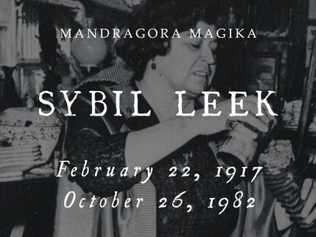 The Witch and Mr. Hotfoot Jackson: Remembering Sybil Leek