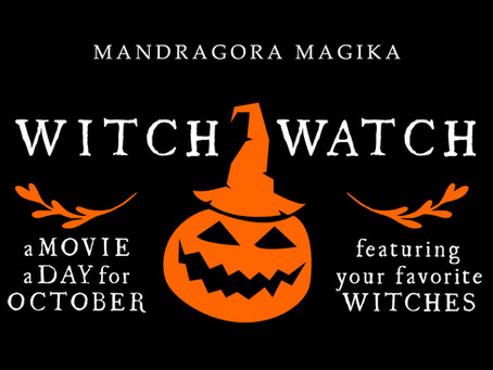 Witch Watch: 31 Movies for the Month of October