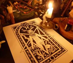 Horned God illustration