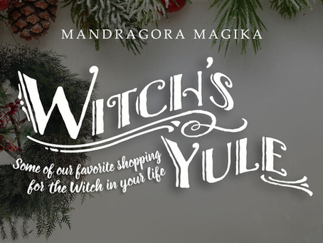 Witch's Yule: Some of our Favorite Shopping for the Witch in Your Life