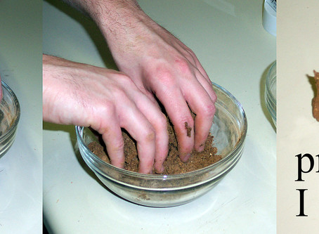 Making Incense Cones Using Makko Powder