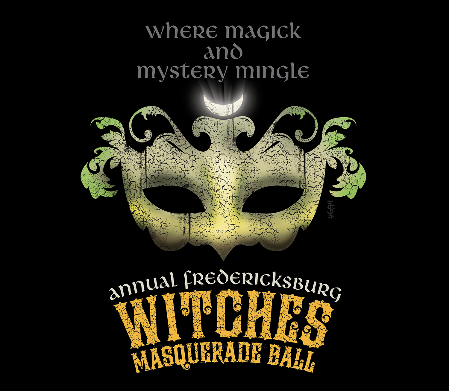 Witches Masquerade Ball Logo