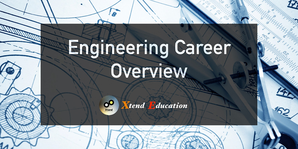 Engineering Career Overview Webinar
