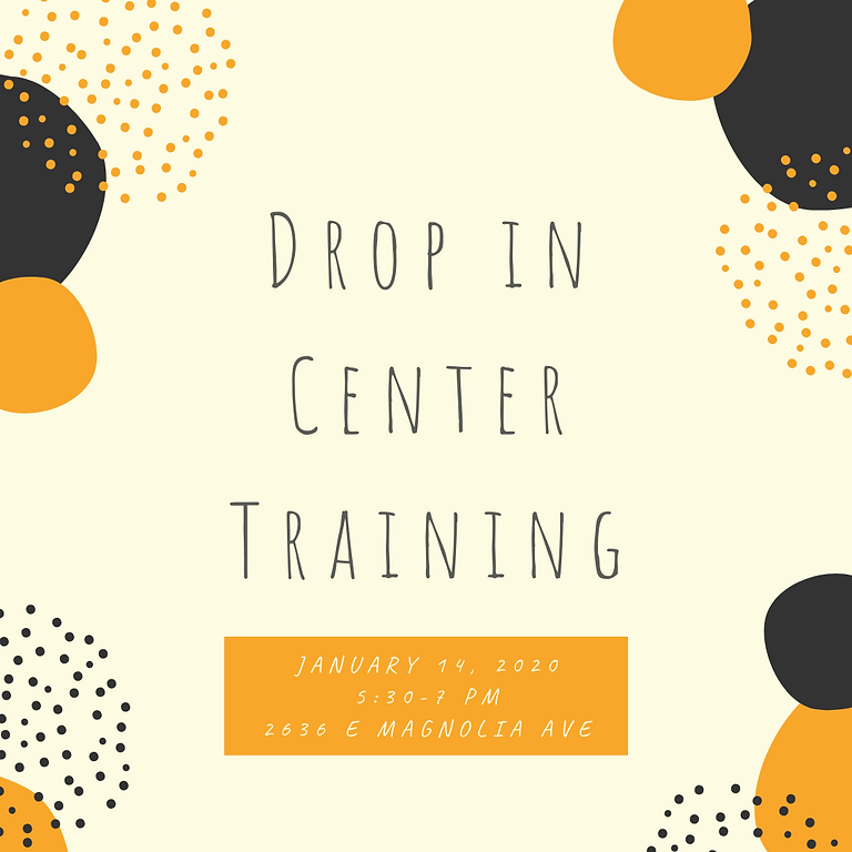 January Training and Infosession
