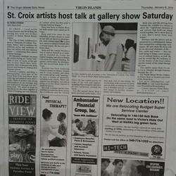 Facebook - #stcroix  #artisttalk #virginislands  #photography #Caribbean  ty Che