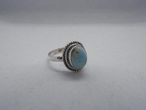Larimar ring