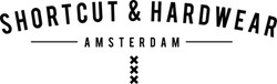 Logo Shortcut & Hardwear zwart