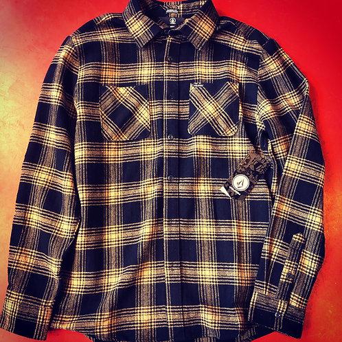 Volcom flanel shirt