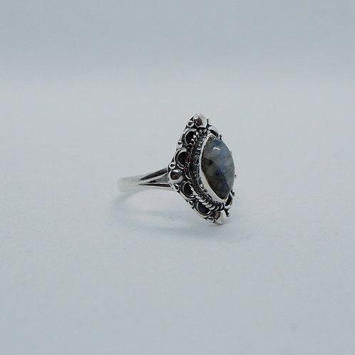 Labadorite ring