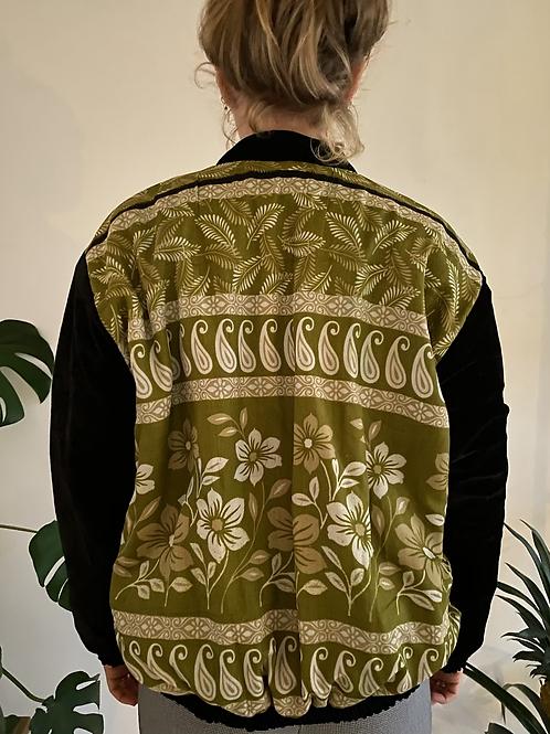 Velvet fleece jackets