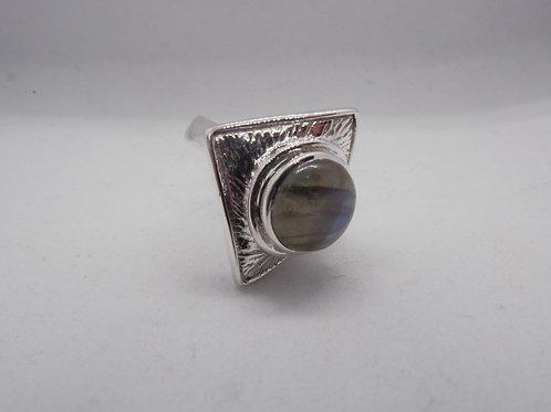 Labadorite triangle ring