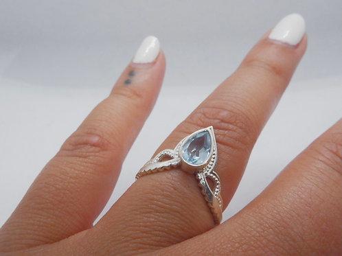 Blue Rani ring