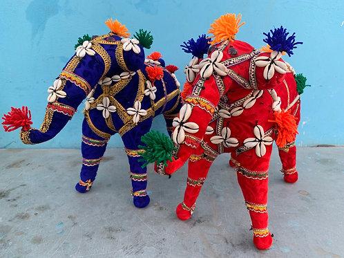 Handmade elephant - large
