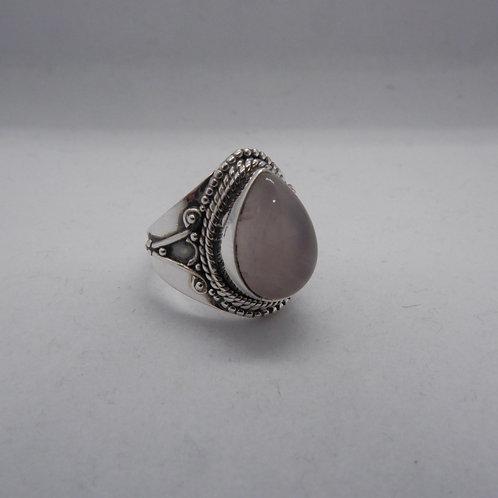 Rosequartz ring