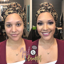 Bridal trial makeovers! It was so much f