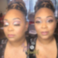 Natural Luxe Glam on one of my fave clie