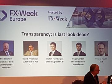 Julian Gladwin moderates two panels at FXWeek Europe