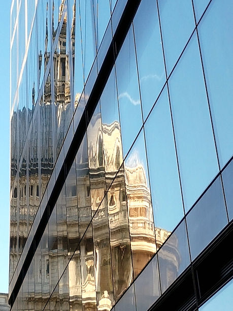 St Paul's Cathedral reflection London