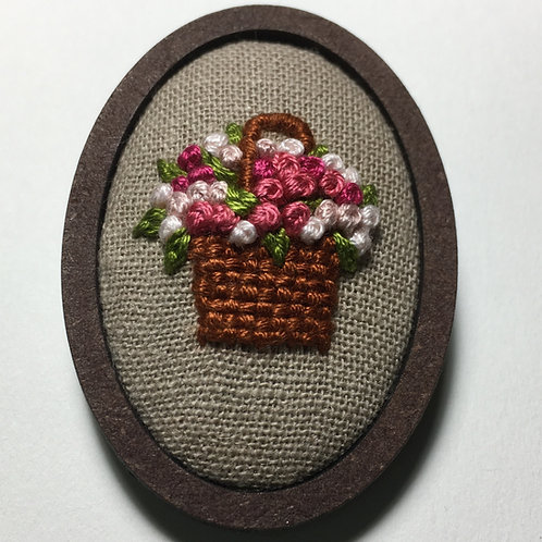Woven Blume Brooch