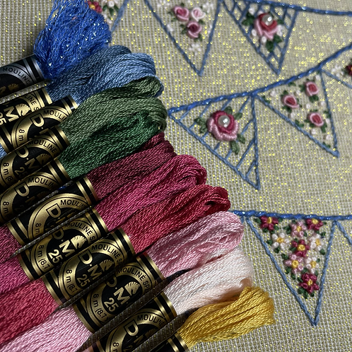 Shades of the Month Threadpack - August 2021