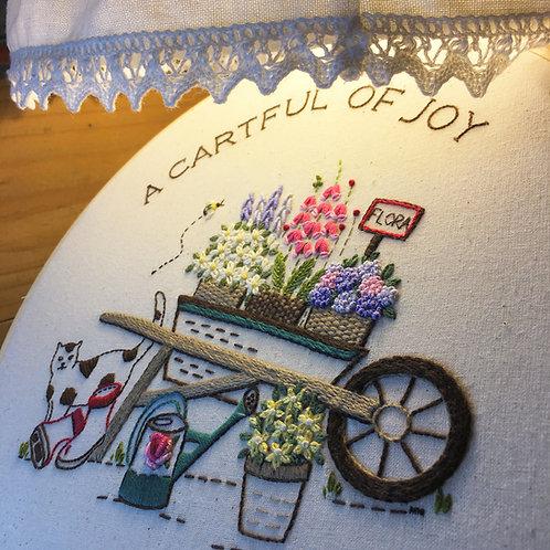 A Cartful of Joy - Garden Series