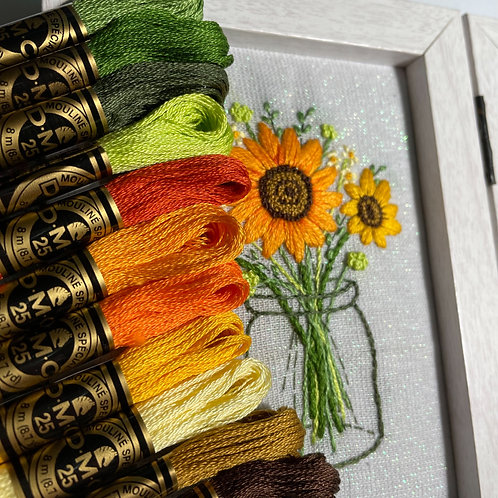 Shades of the Month Threadpack - July 2021
