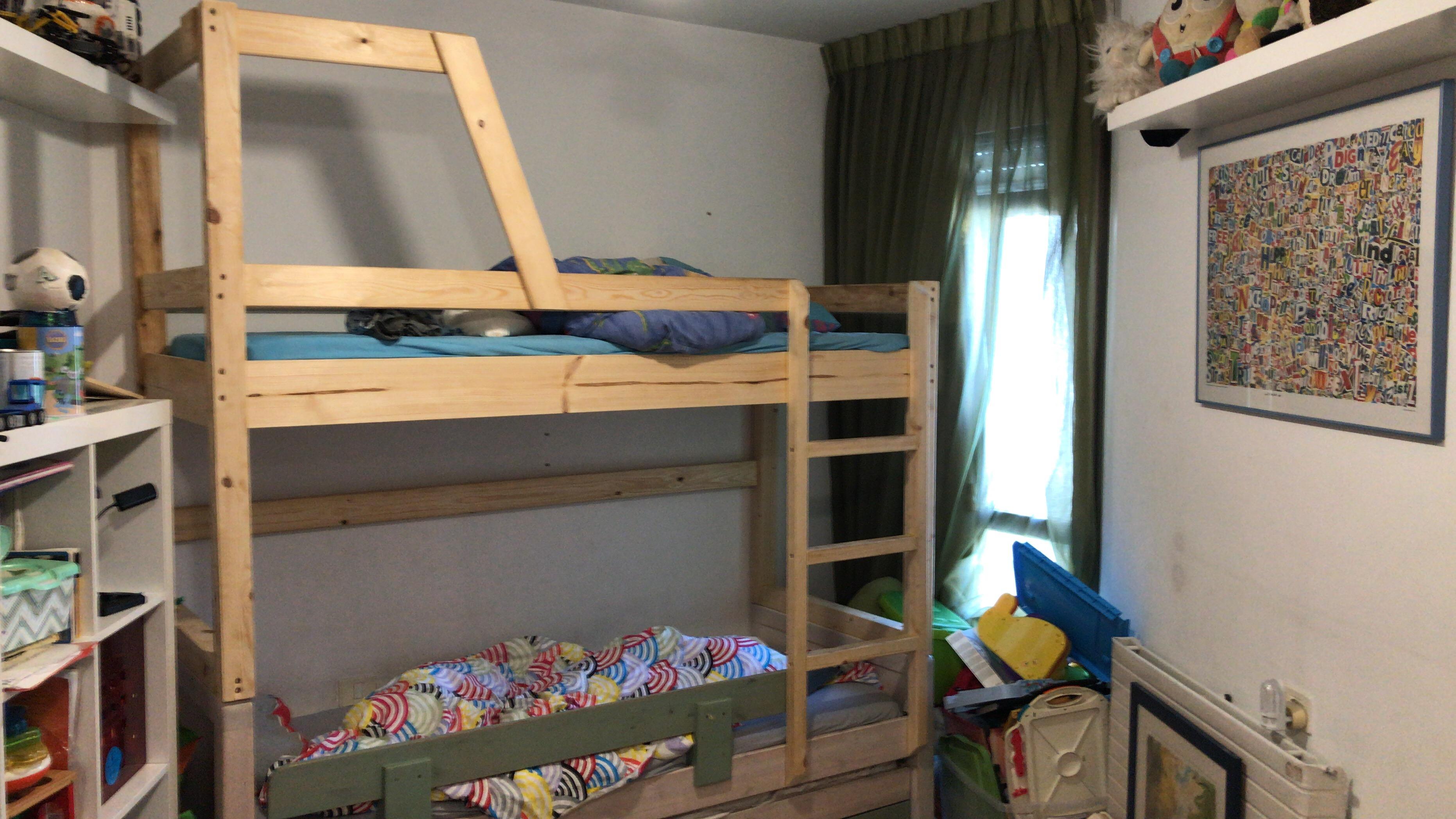 תוספת קומה למיטה על בסיס מיטה קיימת