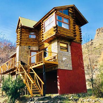 cabaña completa en alumine montaña